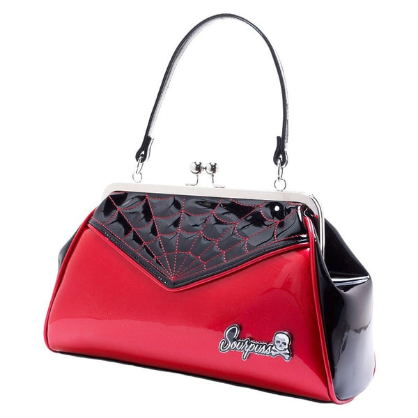 Sac Spiderweb rouge