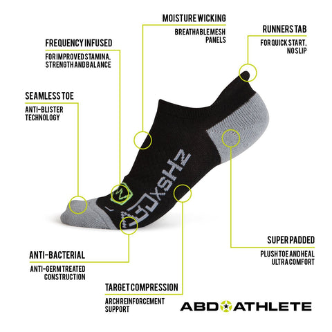 1 PACK - LOW CUT RUNNING SOCKS