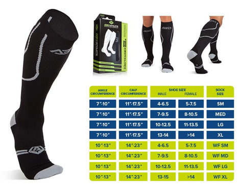 Socks - 2 PACK - WIDE FIT COMPRESSION