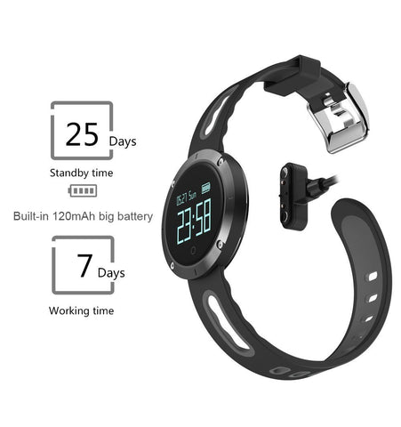 Waterproof Smart Fitness Bracelet Tracker And Heart Rate Blood Pressure Monitor