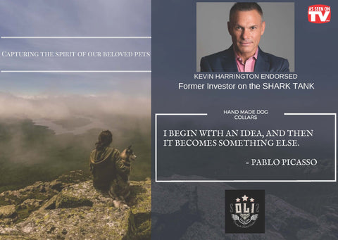 kevin harrington endorses oli collars