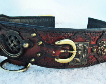 viking dog collars - oli collars