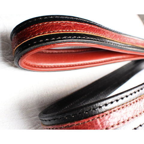 designer leather leash