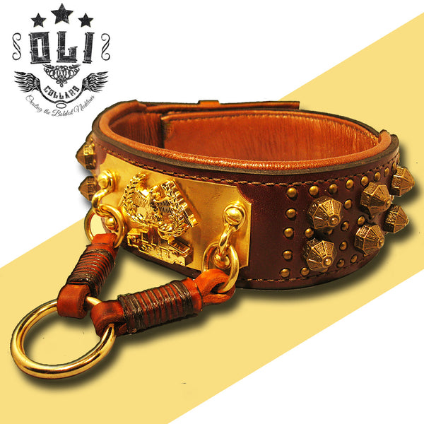 ROMAN DOG COLLAR | ANTICUUS COLLAR (OLI COLLARS)