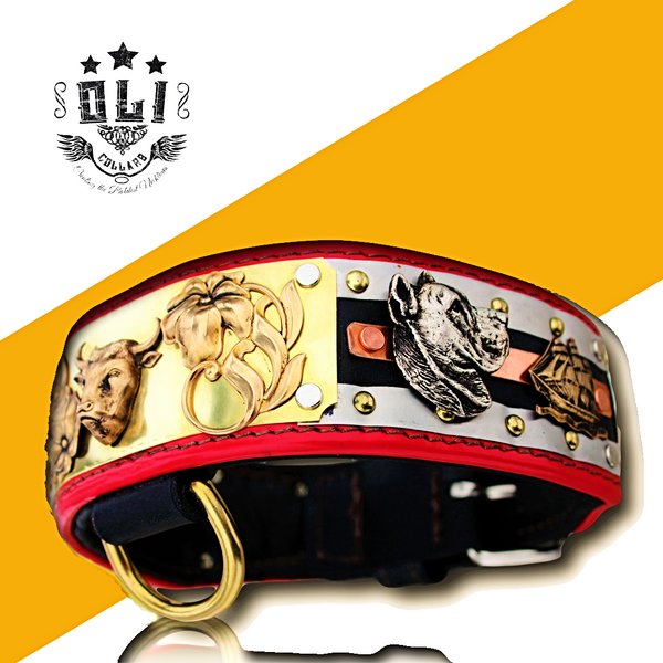 SPANISH DOG COLLAR (OLI COLLARS)