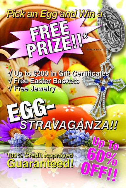 FREE Prizes! Pick and Egg and Win Jewelry and Other Gifts – Diamond