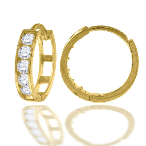 10KT Gold Hoop Earrings