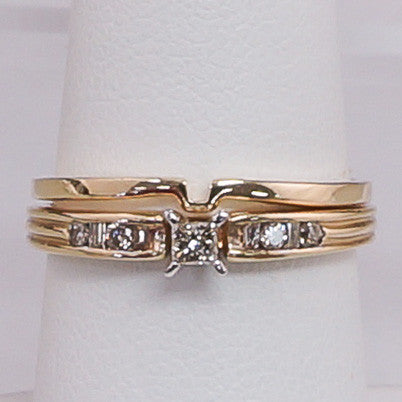 .25PTS Yellow Gold Princes  Bridal 14K