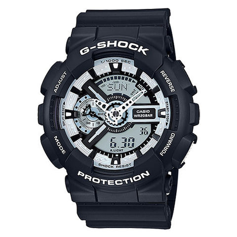G-Shock Ana-Digi X-Large 3D Black and White