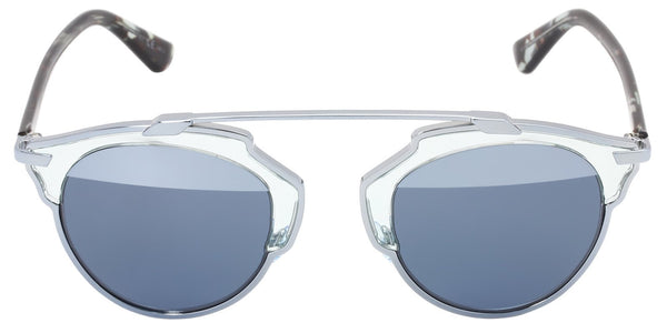 Dior So Real Blue Metal Plastic Aviator Gradient Sunglasses