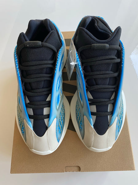 Adidas Yeezy 700 V3 Arzareth Blue Black Women's Men 5.5 sneakers