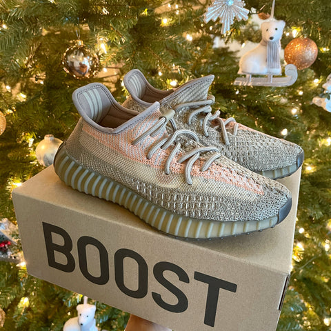 Yeezy Boost 350 Adidas Sand Taupe Beige Lace Up sneakers