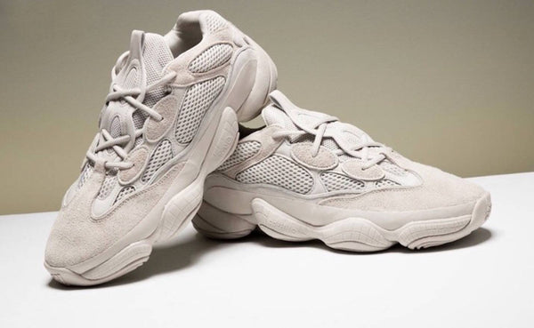 Adidas Yeezy 500 Mud Desert Rat Blush Suede Ugly Dad Sneakers Shoes