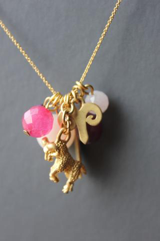 Horoscope Color Cluster Necklaces 12 signs