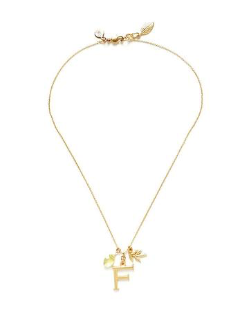 Print Monogram Necklace 26 letters