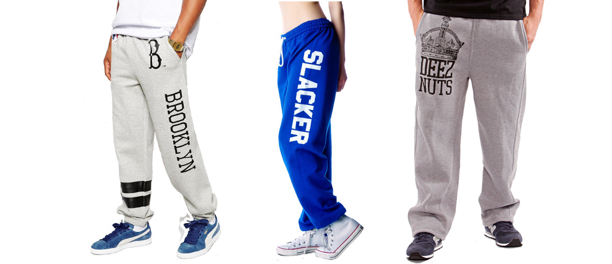 Sweat Pants Banner