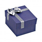 Linen Bow Tie Jewelry Boxes