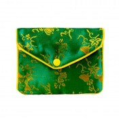 Push Button Chinese Jewelry Pouches