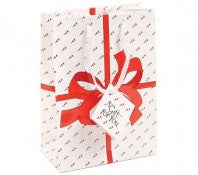 Red Bow Glossy Jewelry Gift Bags