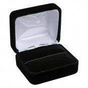 Soft Black Velvet Jewelry Boxes