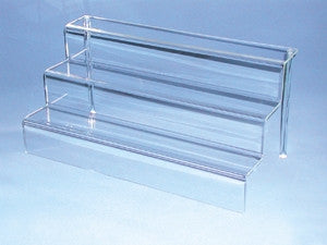 Acrylic Stepped Riser - Jewel Box Co