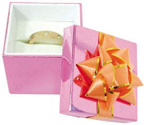 Metallic Hat Box - Assorted Ring Box - Jewel Box Co