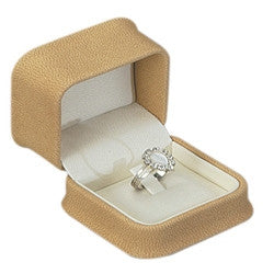 Ultra Suede Clip Ring Box - Jewel Box Co