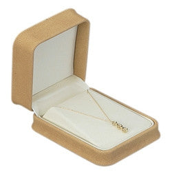 Ultra Suede Pendant Box - Jewel Box Co