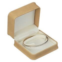 Ultra Suede Bangle/Watch Box - Jewel Box Co