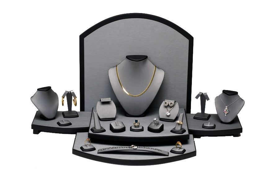 Steel Grey Showcase Collection Set - Jewel Box Co