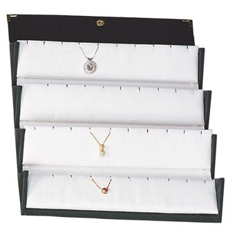 20-pair Folding Pendant Box - Jewel Box Co