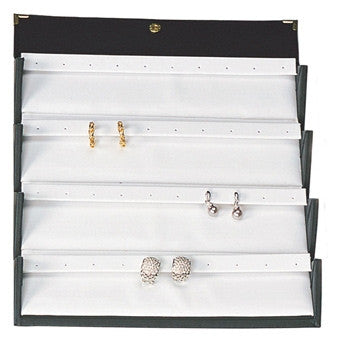 20-Pair Folding Earring Box - Jewel Box Co