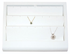 Curved Front 18 Pendant Display Tray - Jewel Box Co