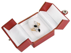 Finger Ring 2-Door Jewelry Box - Jewel Box Co