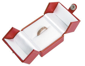 Single Ring 2-Door Jewelry Box - Jewel Box Co