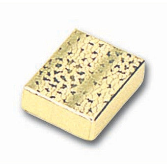 Gold Foil Ring/Earring Box - Jewel Box Co