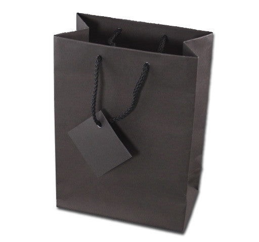 Chocolate Brown Matte Tote Bag - Jewel Box Co