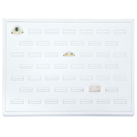 46-Slot Ring Tray - Jewel Box Co