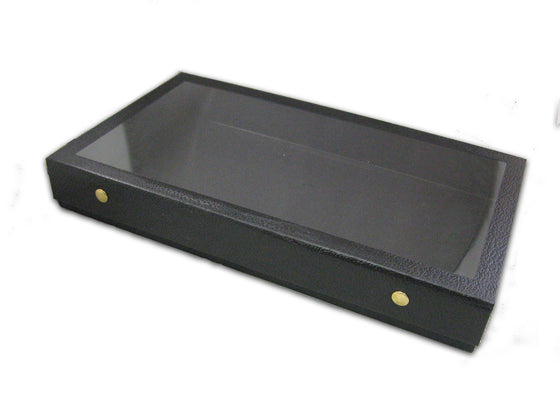 "2"" Case with Snap-Close Acrylic Lid - Jewel Box Co"