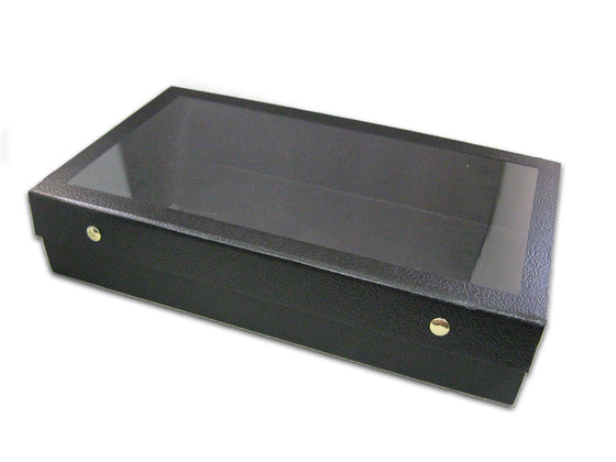 "3"" Case with Snap-Close Acrylic Lid - Jewel Box Co"
