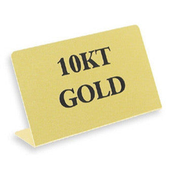 "10Kt Gold 3 1/2""x 2"" H - Jewel Box Co"
