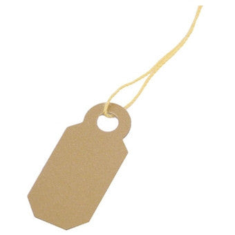 Plastic String Tags - Jewel Box Co