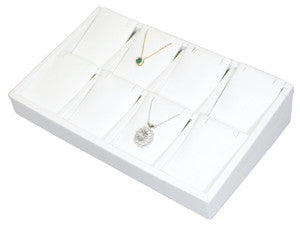 8-Pair Earring/Pendant Tray - Jewel Box Co