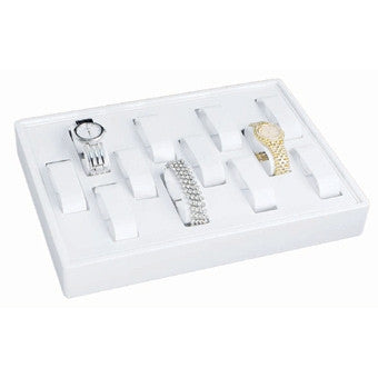 12-Collar Watch Tray - Jewel Box Co