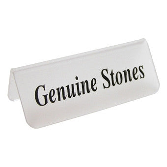 Geniune Stones - Jewel Box Co