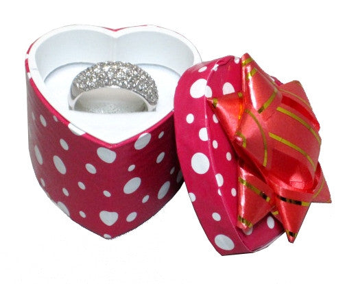 Polka Dot Assorted Ring Box - Jewel Box Co
