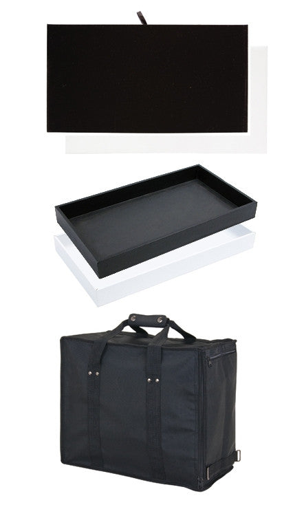 Carrying Case with Trays & Inserts - Jewel Box Co