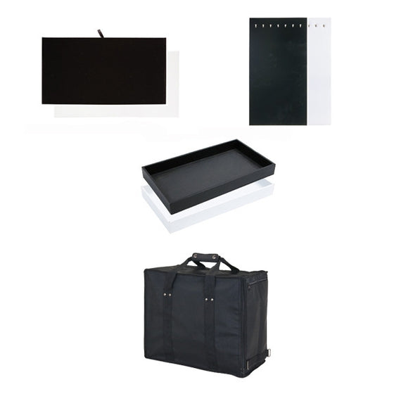CL Carrying Case with Trays & Inserts - Jewel Box Co