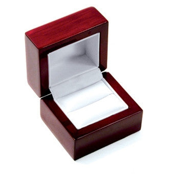Single Ring Rosewood Jewelry Box - Jewel Box Co