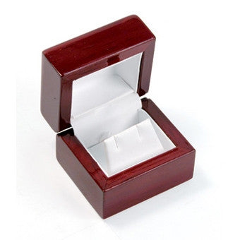 Earring Rosewood Jewelry Box - Jewel Box Co